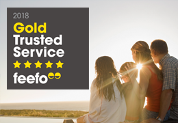 Feefo Gold Trusted Service Awards 2018