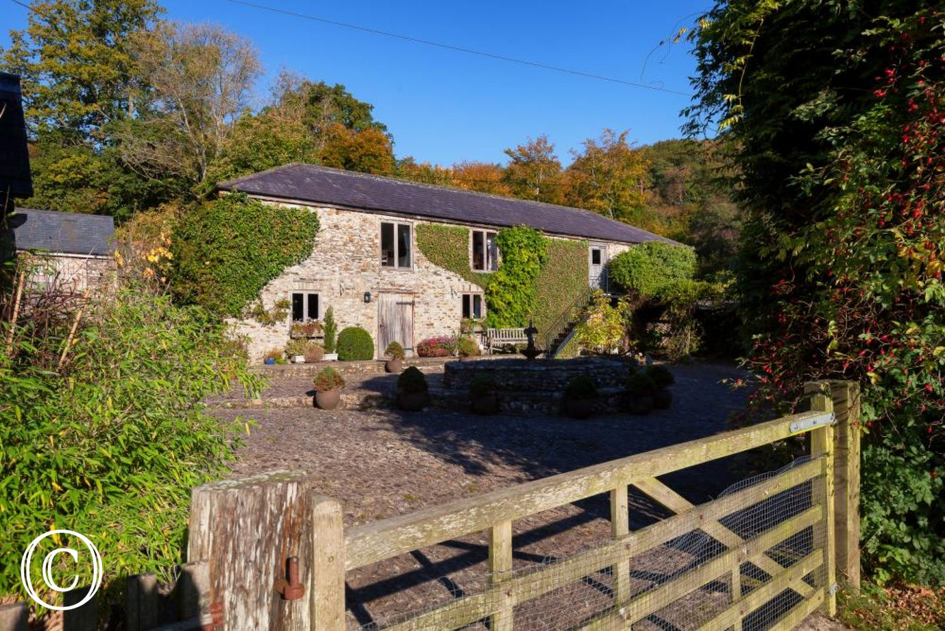 Hutchinghayes Barn, countryside retreat in East Devon at Honiton