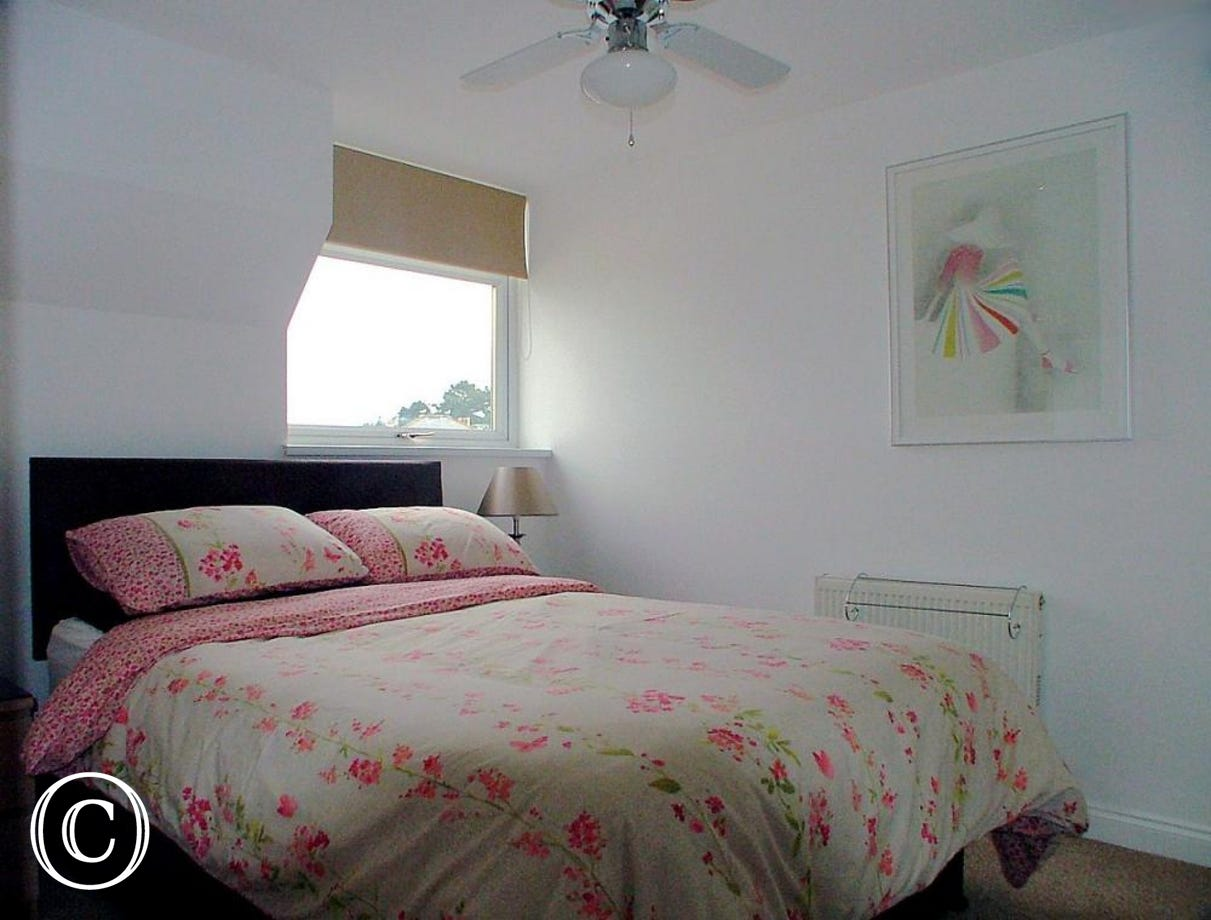 Stanley Apt 1 Paignton - Bedroom 1 en-suite Double