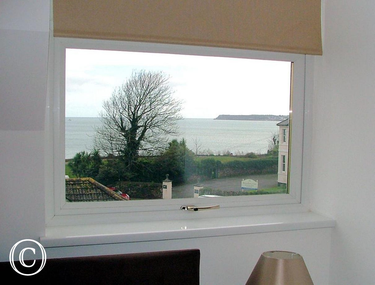 Stanley Apt 1 Paignton - Sea View from Bedroom 1
