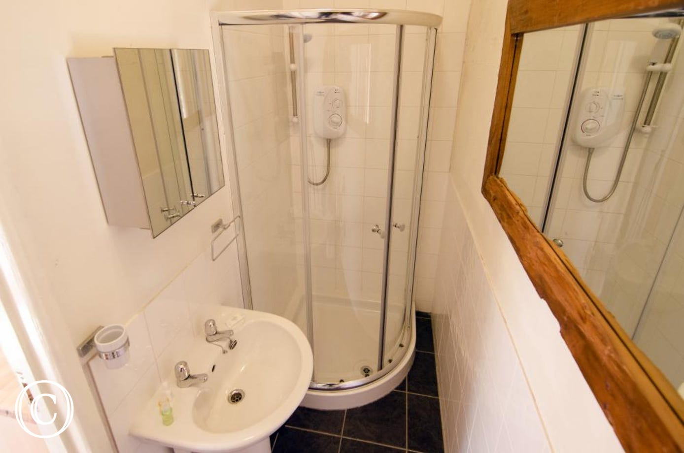 Galmpton Stable shower room