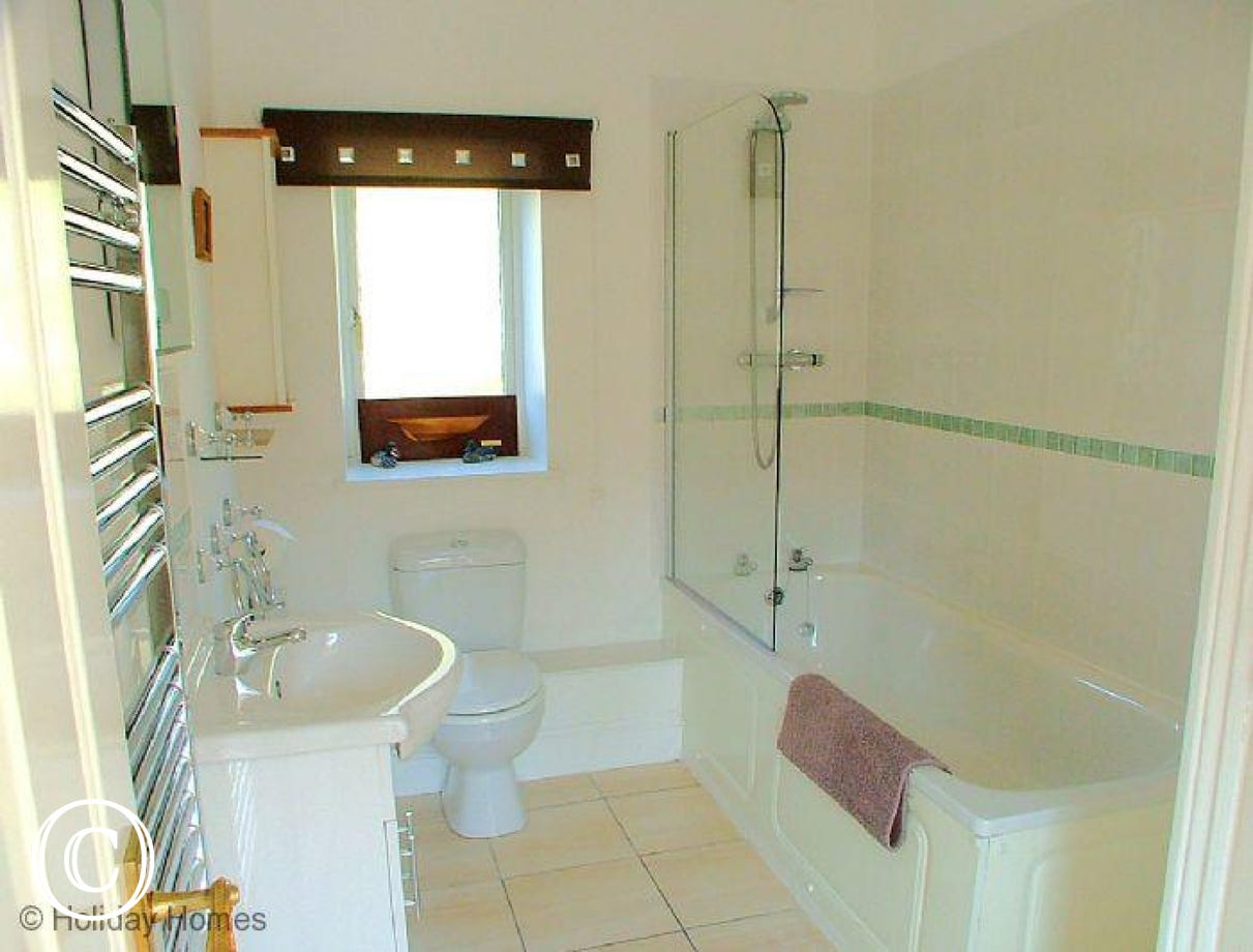 The Chestnuts Galmpton - Family Bathroom
