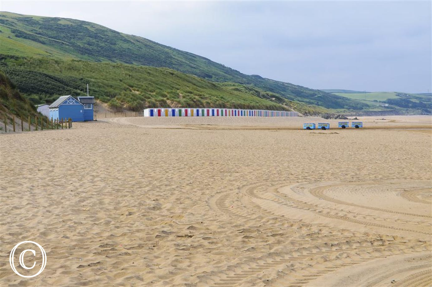 Beautiful Woolacombe beach is just a short stroll away!