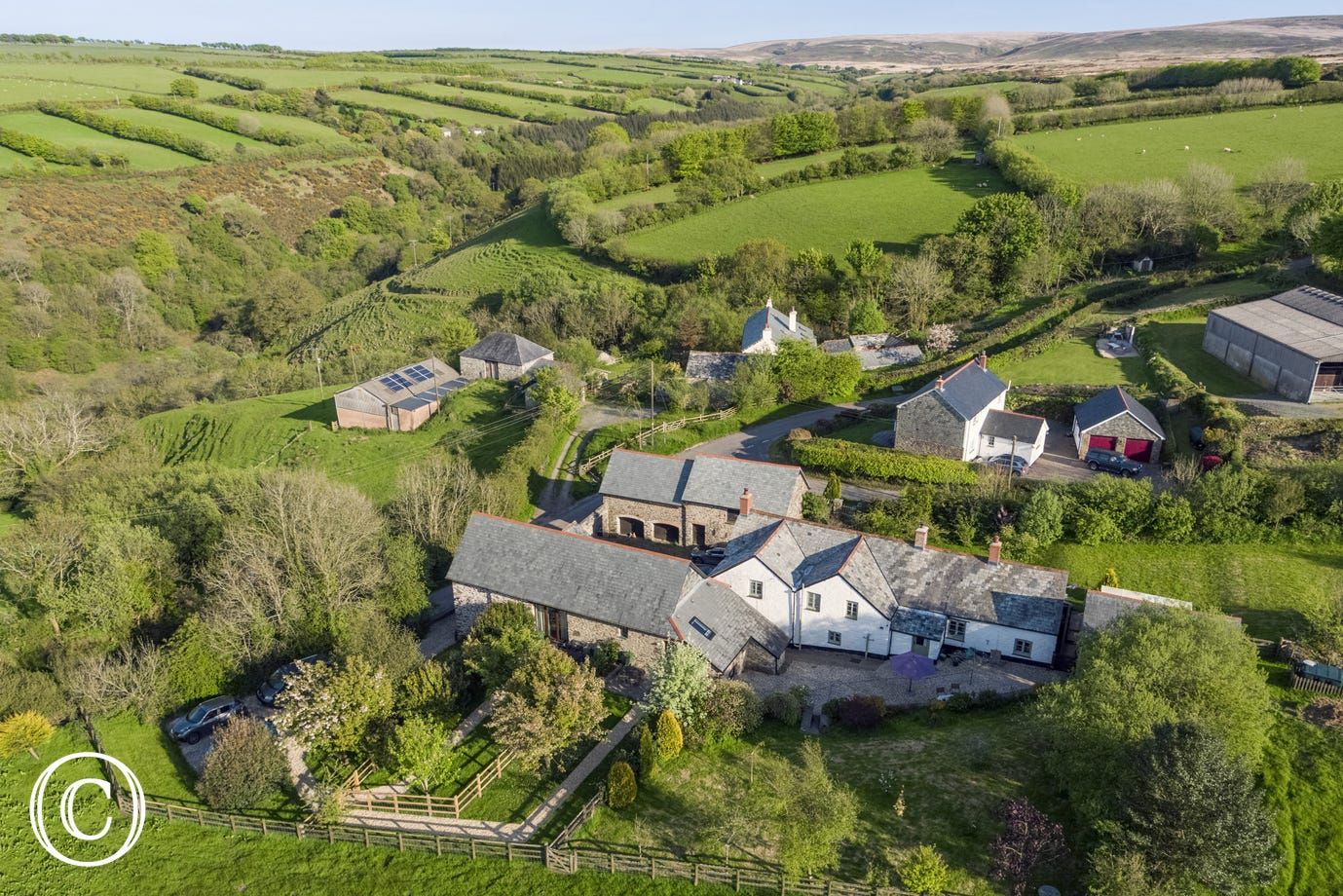 Peacefully situated in the West Lyn Valley and surrounded by the natural splendour of Exmoor, this spacious country retreat is one of only two cottages close to the owners own home