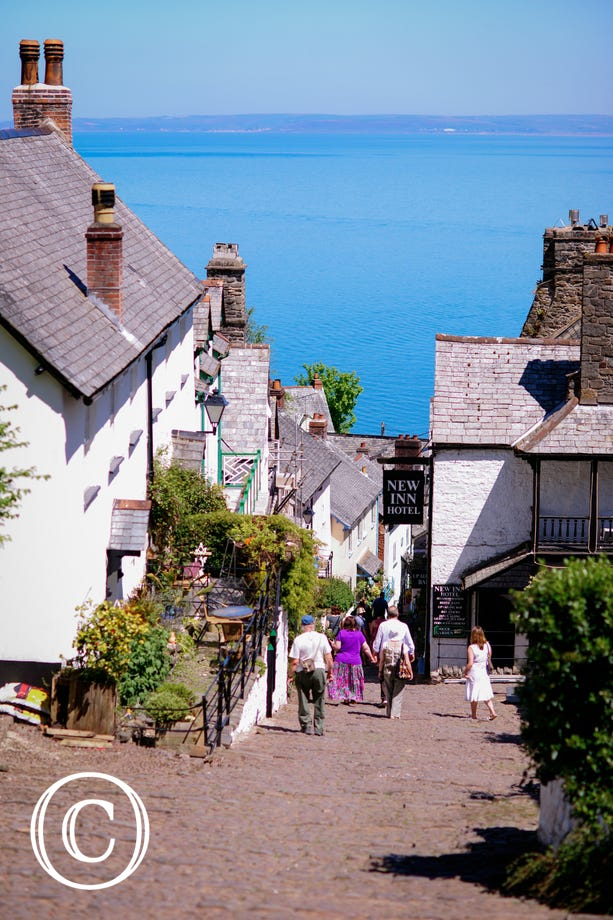 The historic fishing village of Clovelly is really worth a visit
