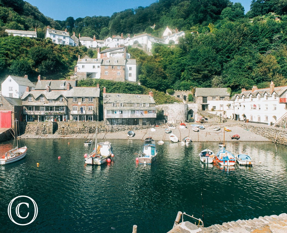The historic fishing village of Clovelly is approximately 4 miles away from the cottage