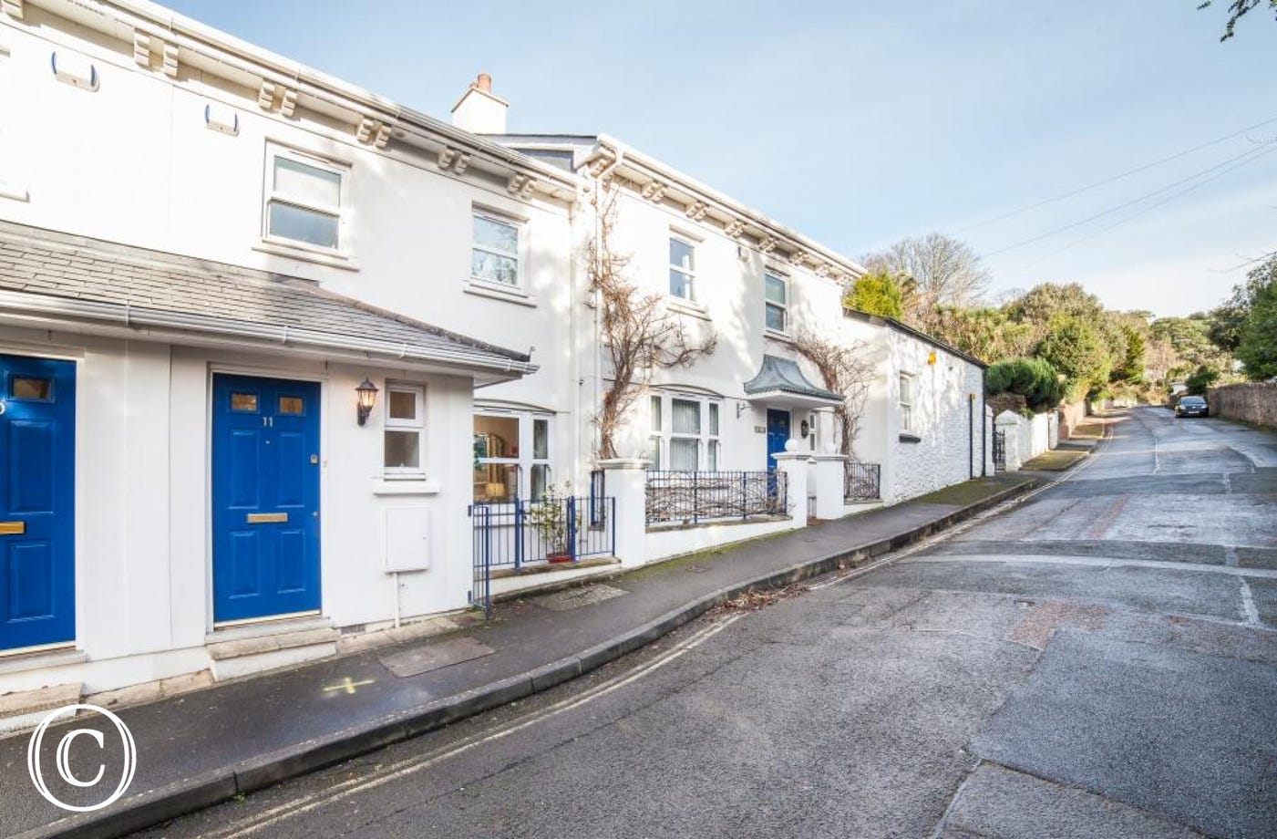 The Front of Beach Mews Holiday Cottage in Wellswood, Torquay. A Perfect Cottage for Beach Retreats and Family Holidays