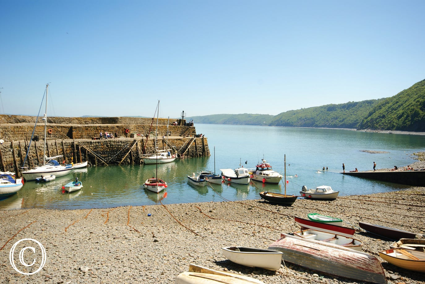 The historic fishing village of Clovelly is a short drive away and well worth a visit