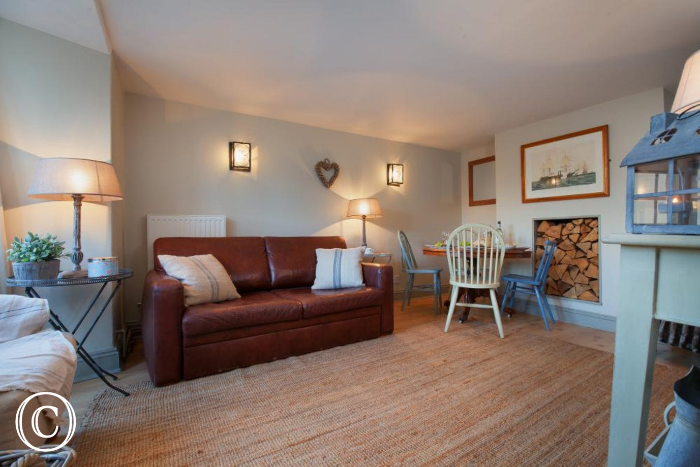 Living room - Compass Cottage, Shaldon