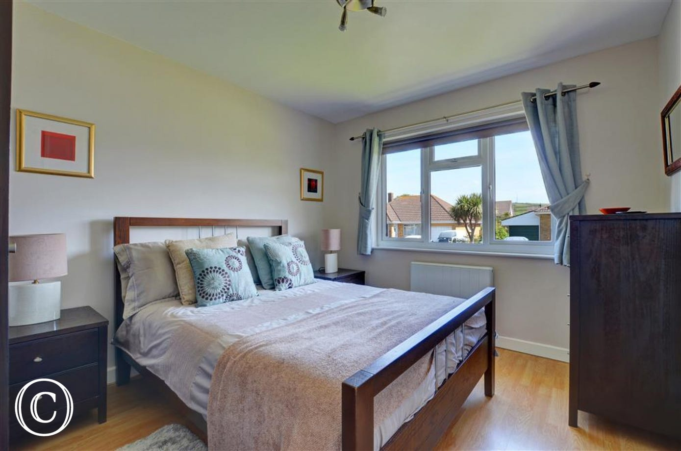 Tastefully decorated and stylish double bedroom