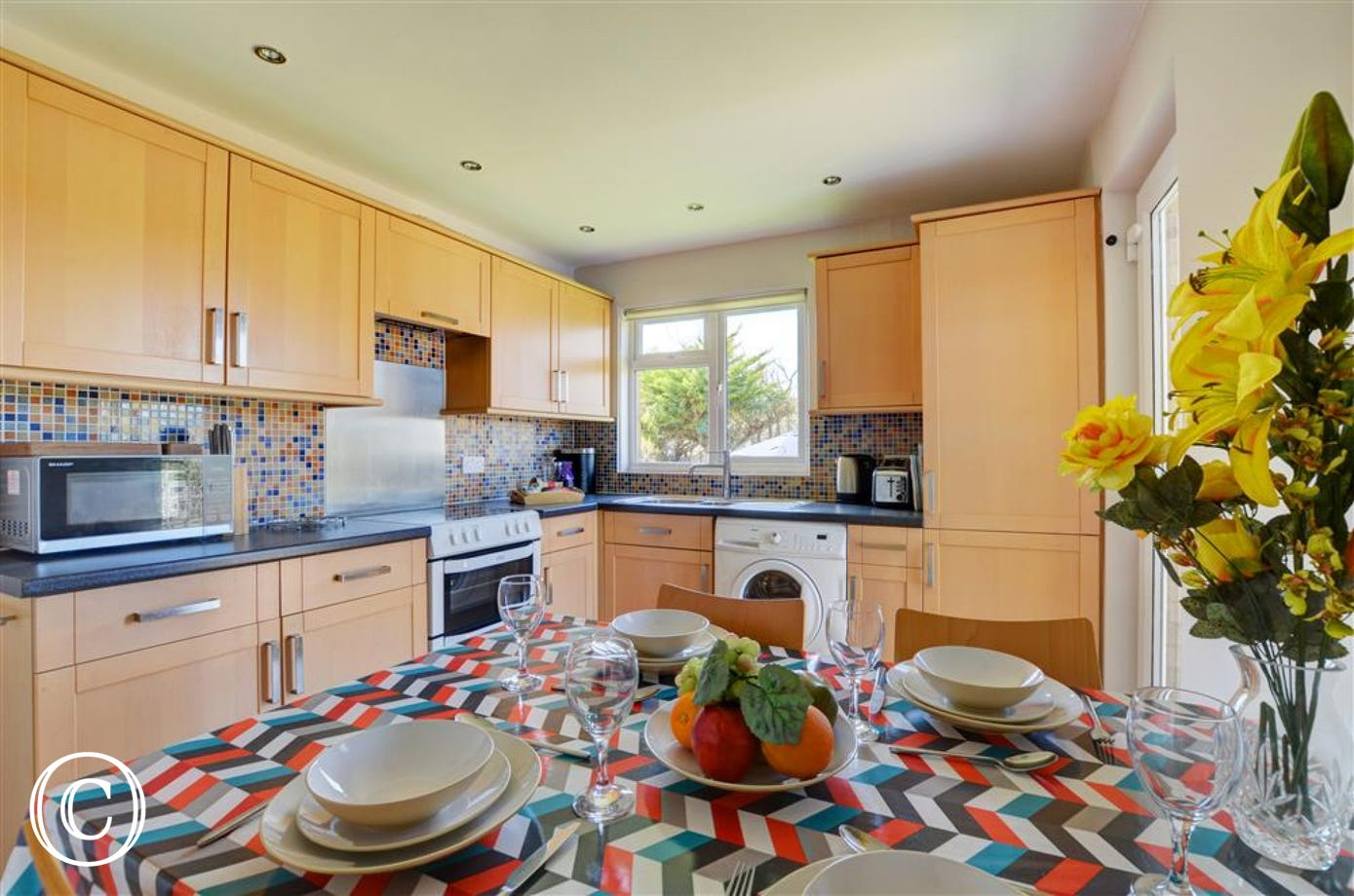 Well equipped kitchen to prepare that special family meal or a quick breakfast to set you up for the day