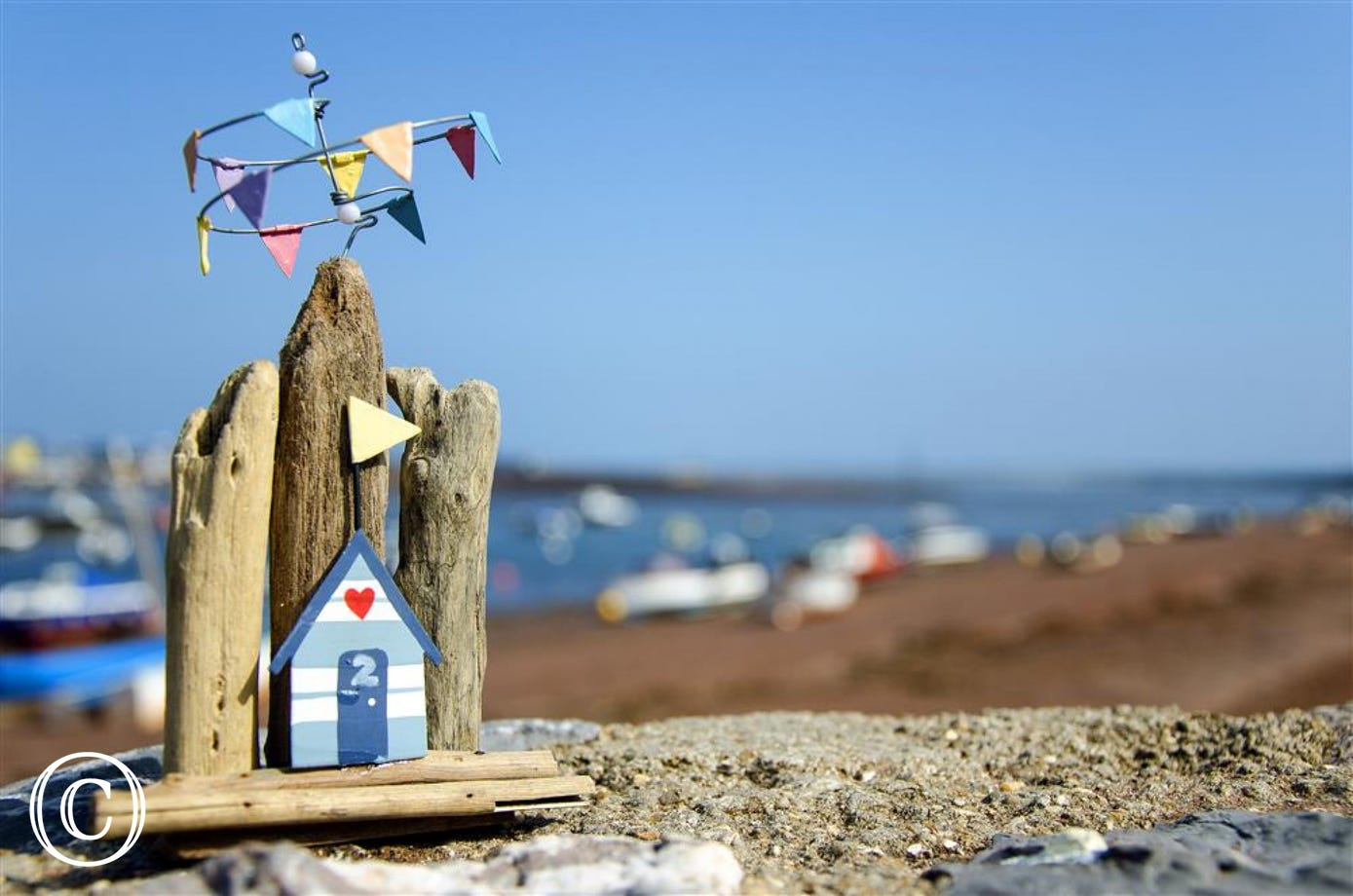 Shaldon Beach Hut Two