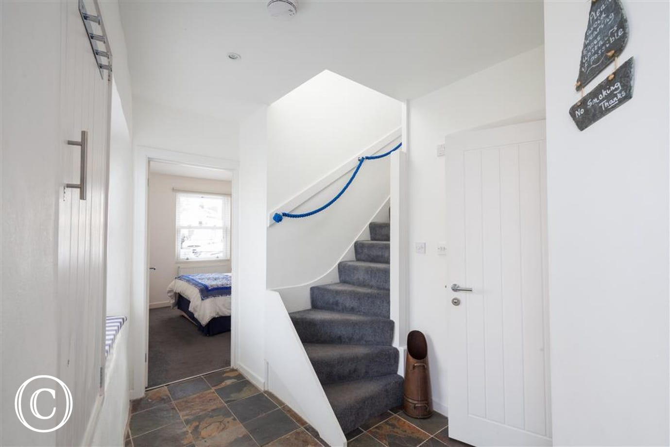 Oyster Cottage, Shaldon - Stair case