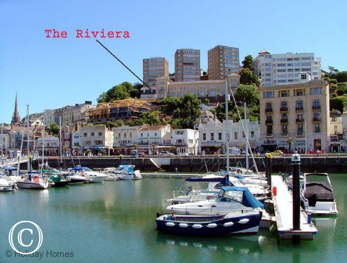 The Riviera Torquay - Prominent Position overlooking the Harbour