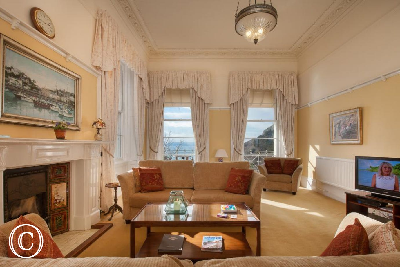 period self-catering holiday apartment in torquay to rent