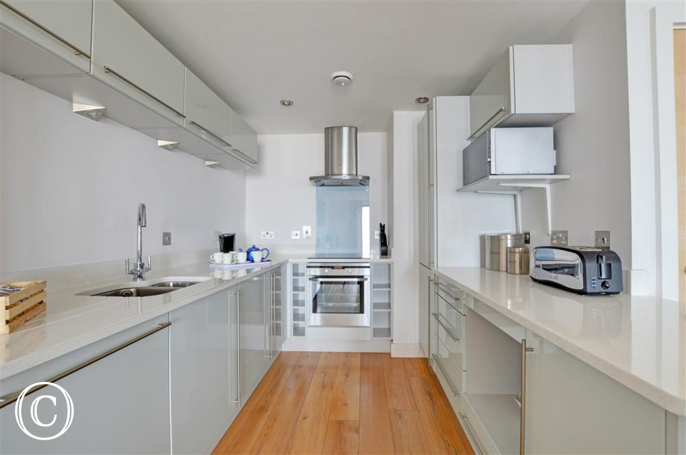 Fantastic modern kitchen with everything you need for your holiday