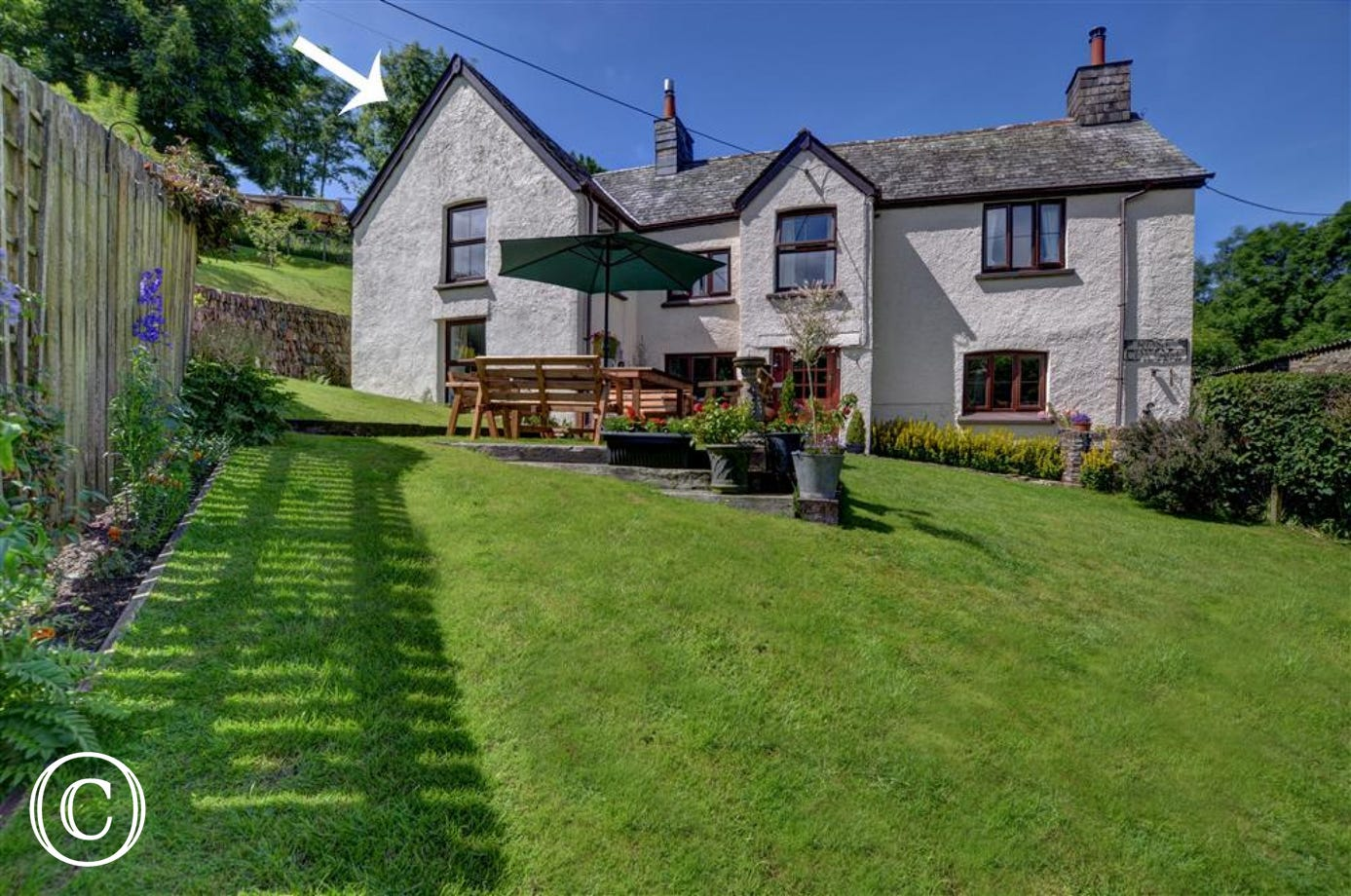 Situated in a most peaceful location within Exmoor National Park and close to spectacular coast and Moorland scenery
