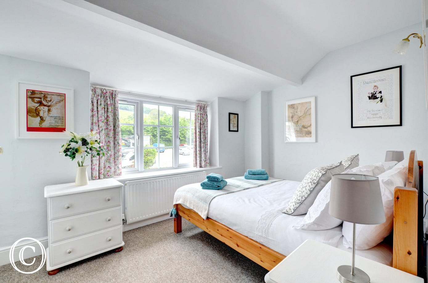 Attractive light and airy double bedroom