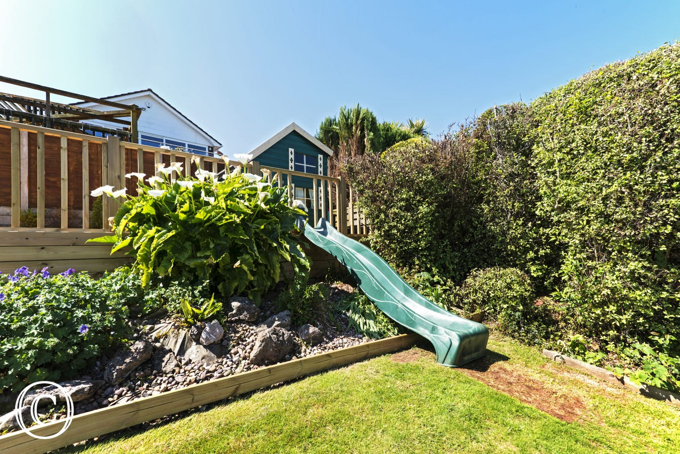 Sea Acres, Paignton - Garden