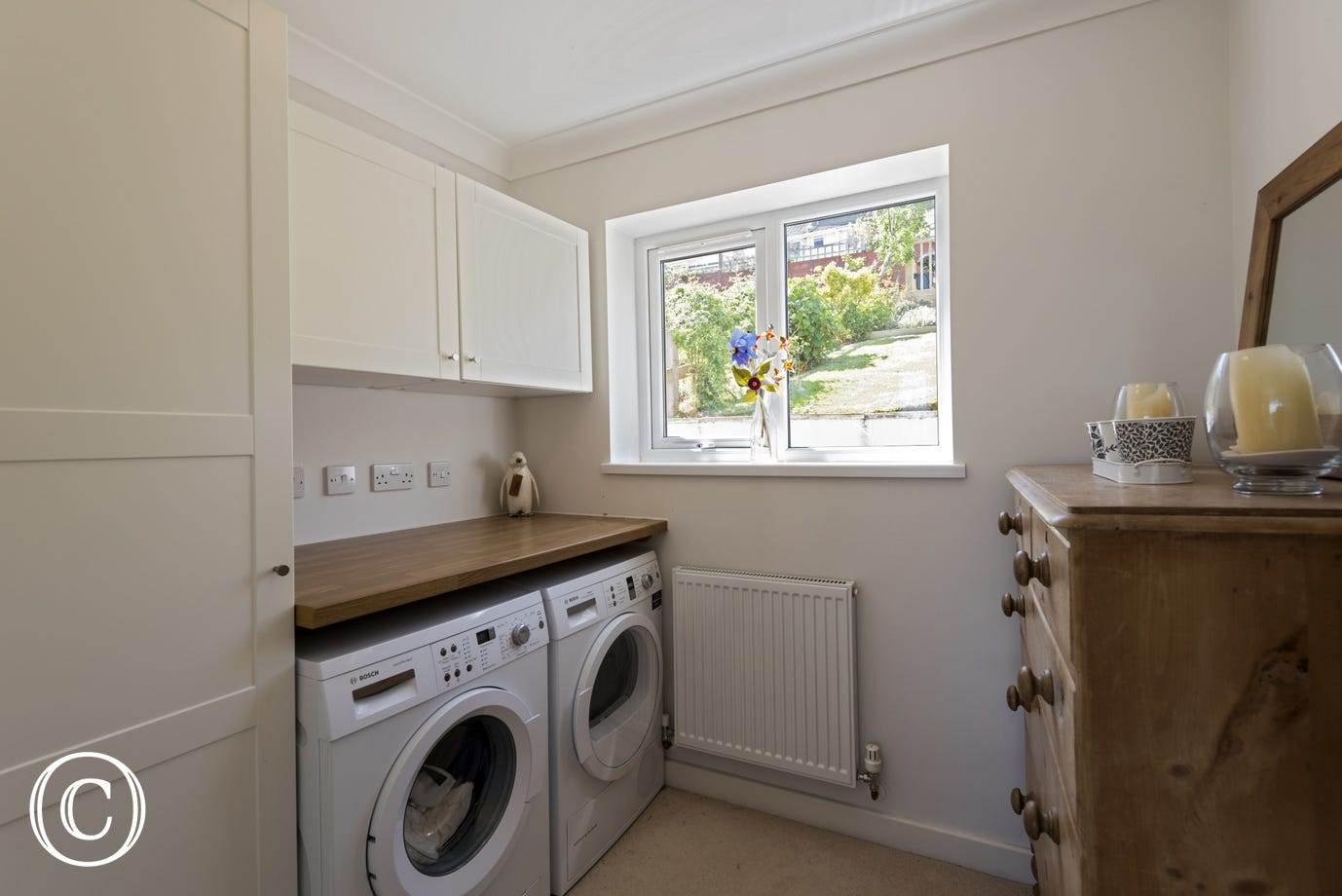Sea Acres, Paignton - Utility room