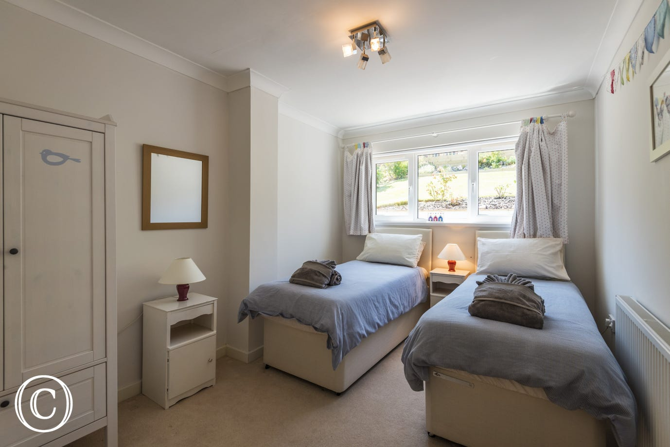 Sea Acres, Paignton - Twin bedroom