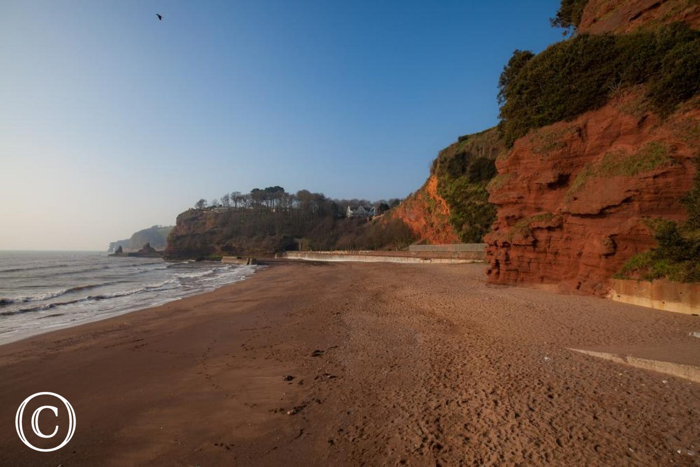 Cliffside Beach Walk from our Dawlish Self-Catering Holiday Apartment