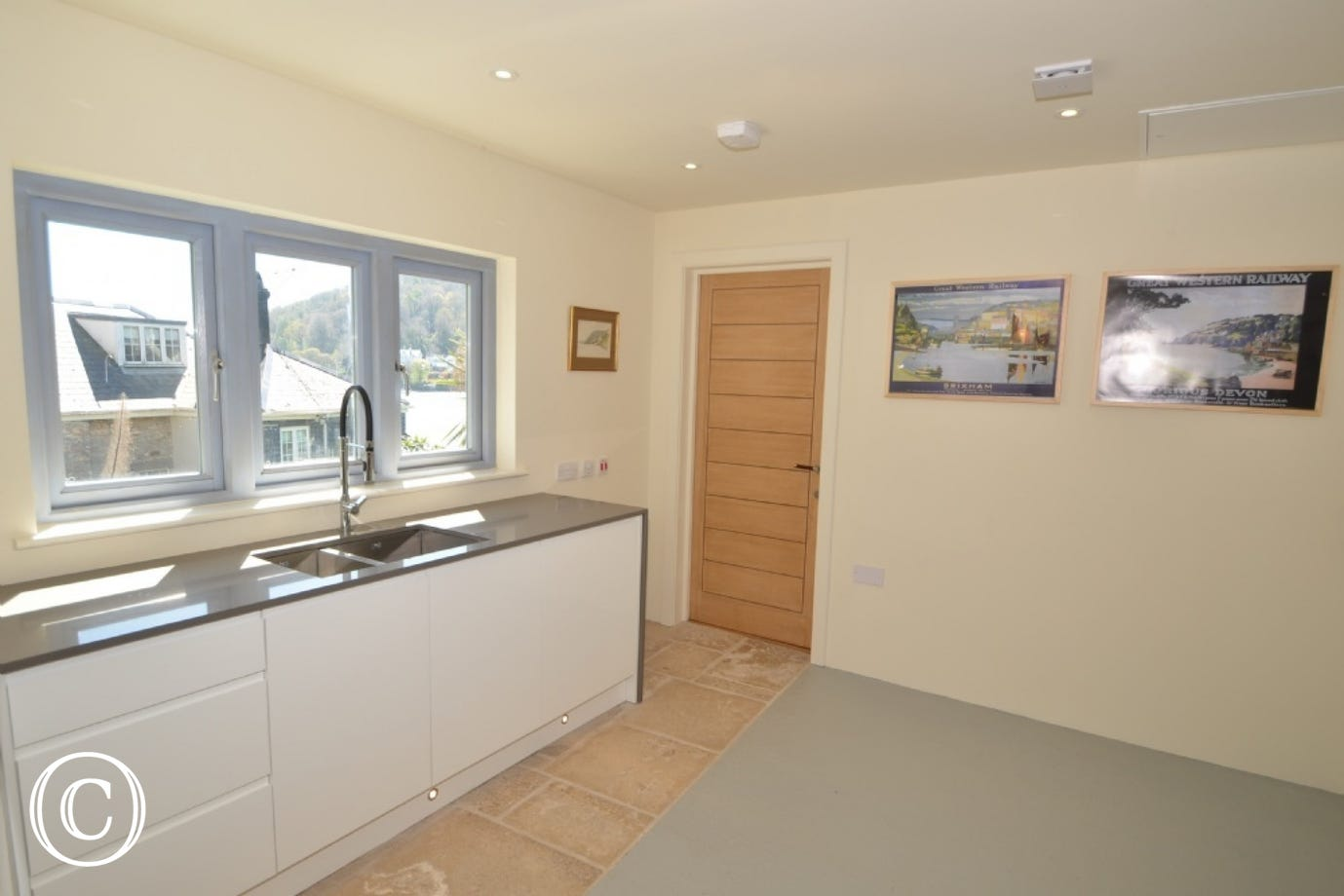 Utility room at The Edge in Kingswear