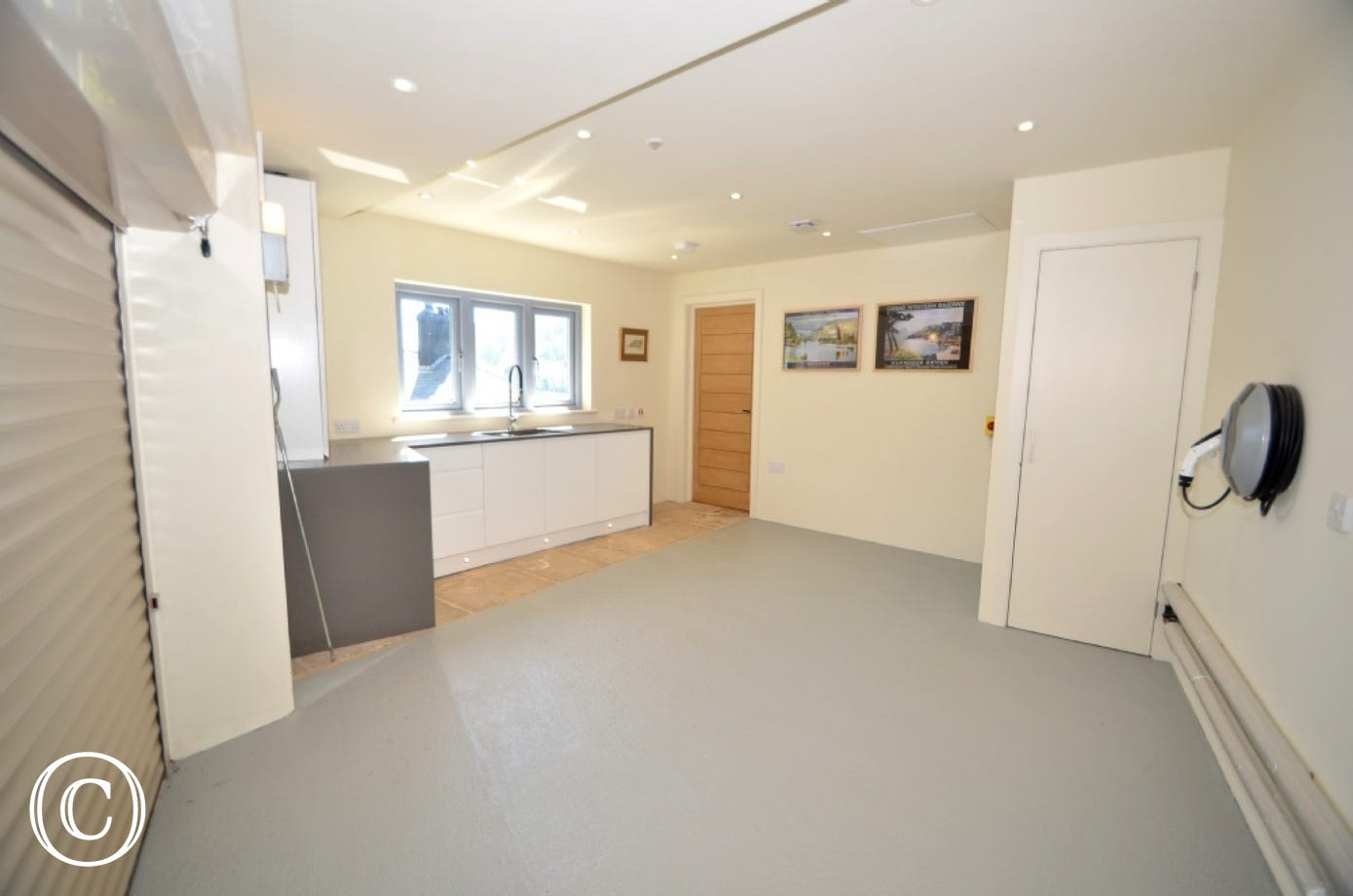 Utility room/Garage at The Edge in Kingswear