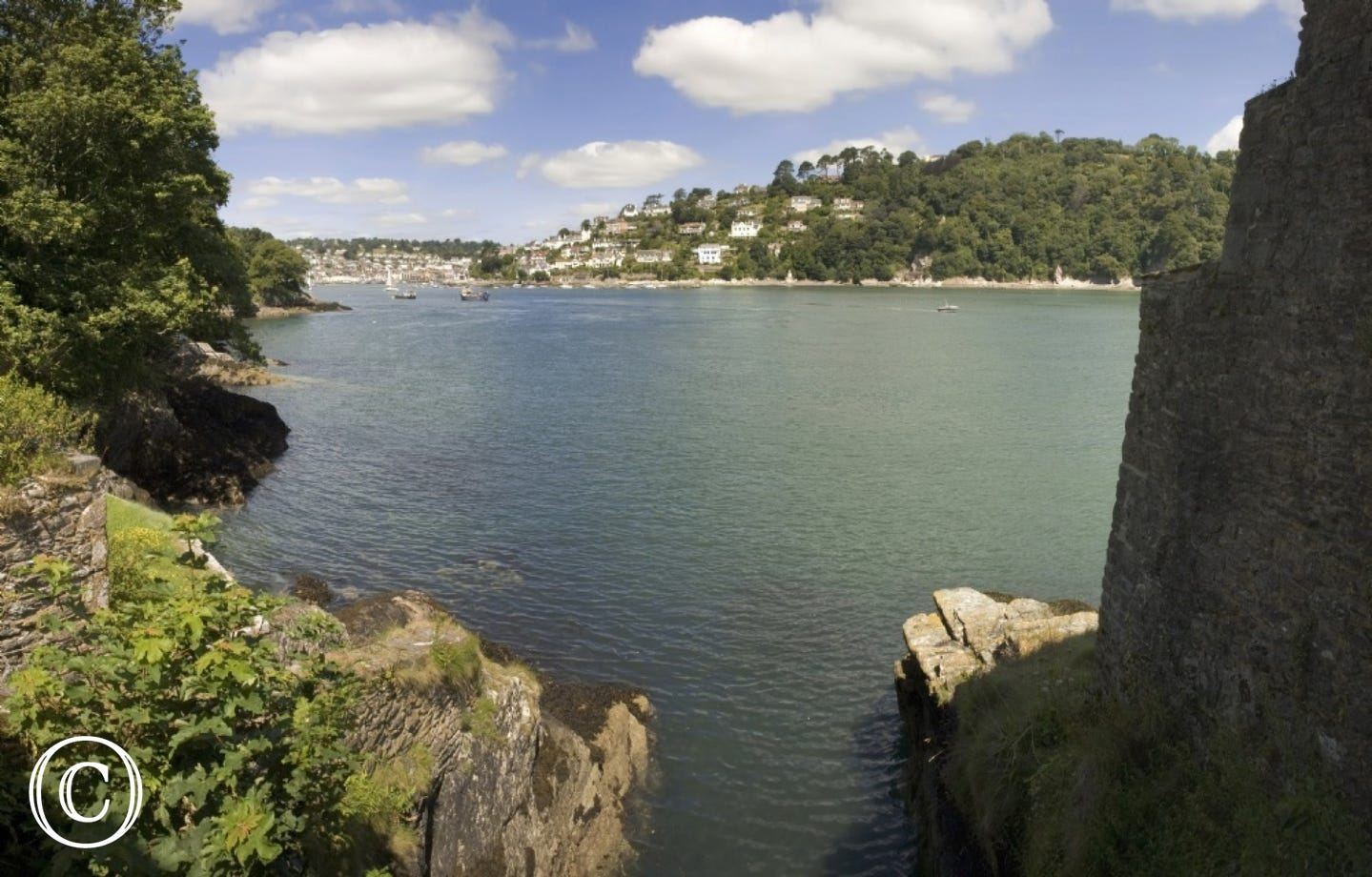 View from the Edge in Kingswear