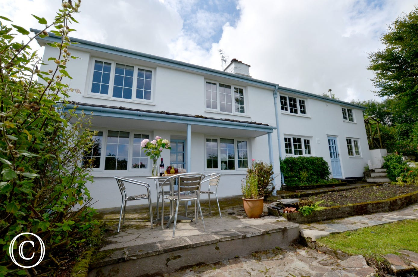 Peacefully located on quiet country lane that leads directly onto Exmoor Common