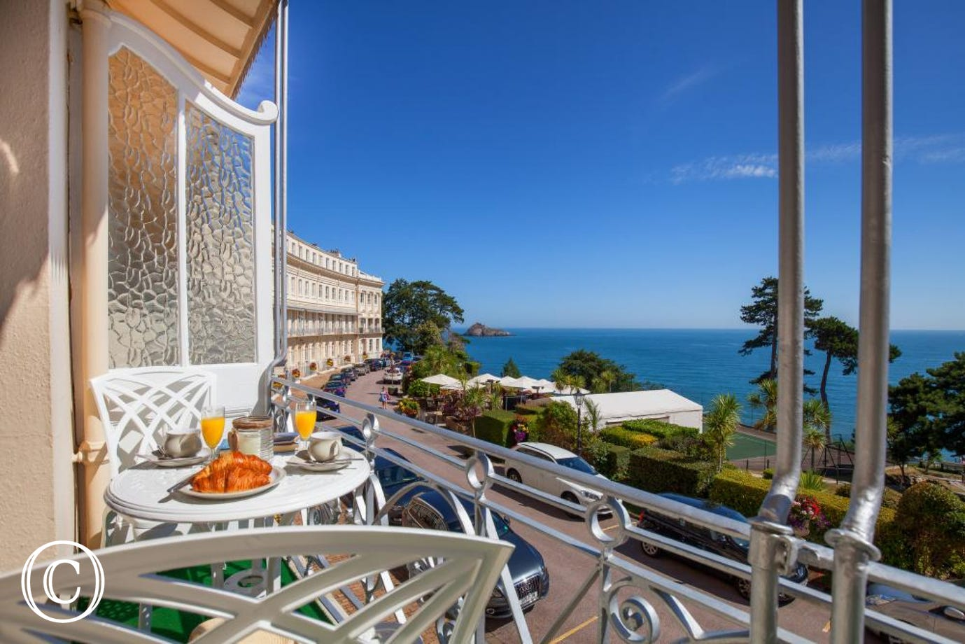 The Balcony, Torquay - Stunning views from the balcony