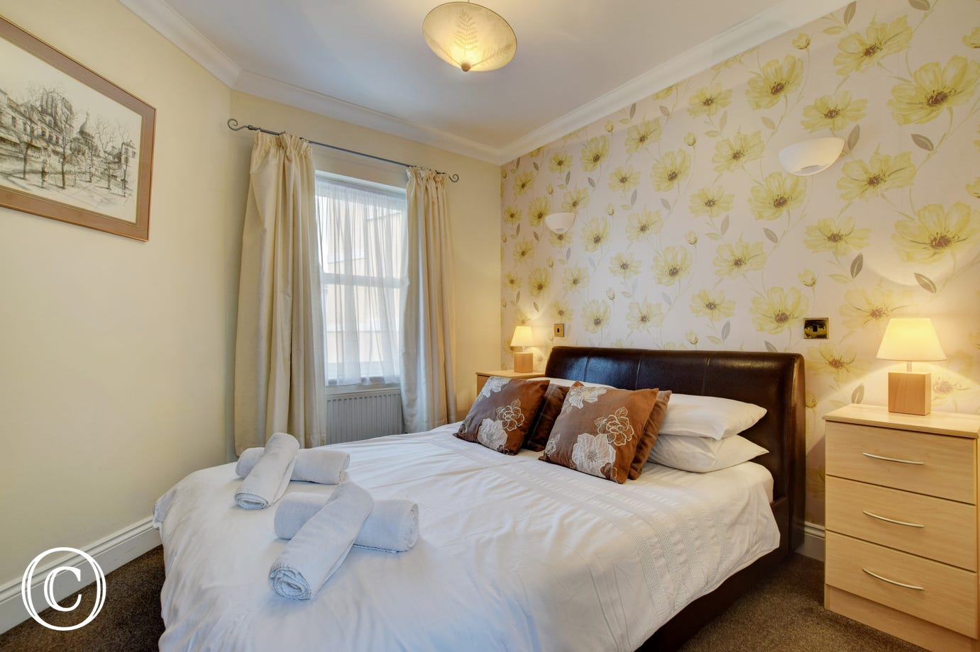 Sunnyhill Mews Holiday Cottage Torquay - Master Bedroom