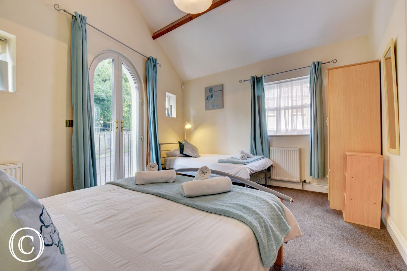 Sunnyhill Mews Holiday Cottage Torquay - Bedroom 2 Single