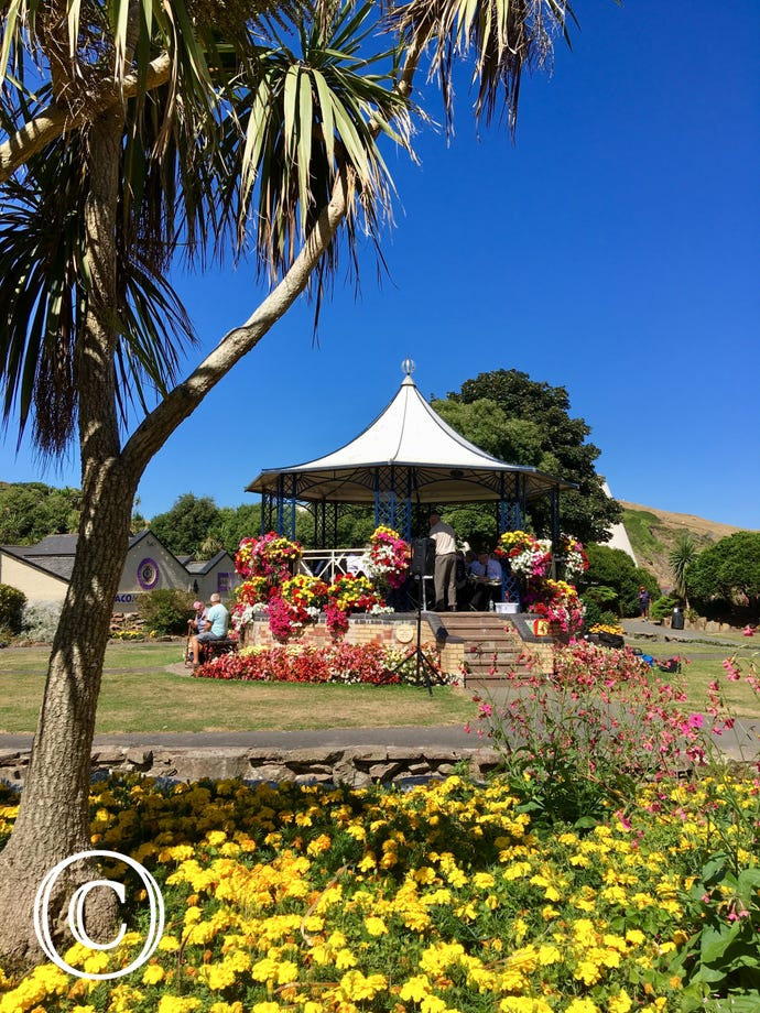 Ilfracombe band stand