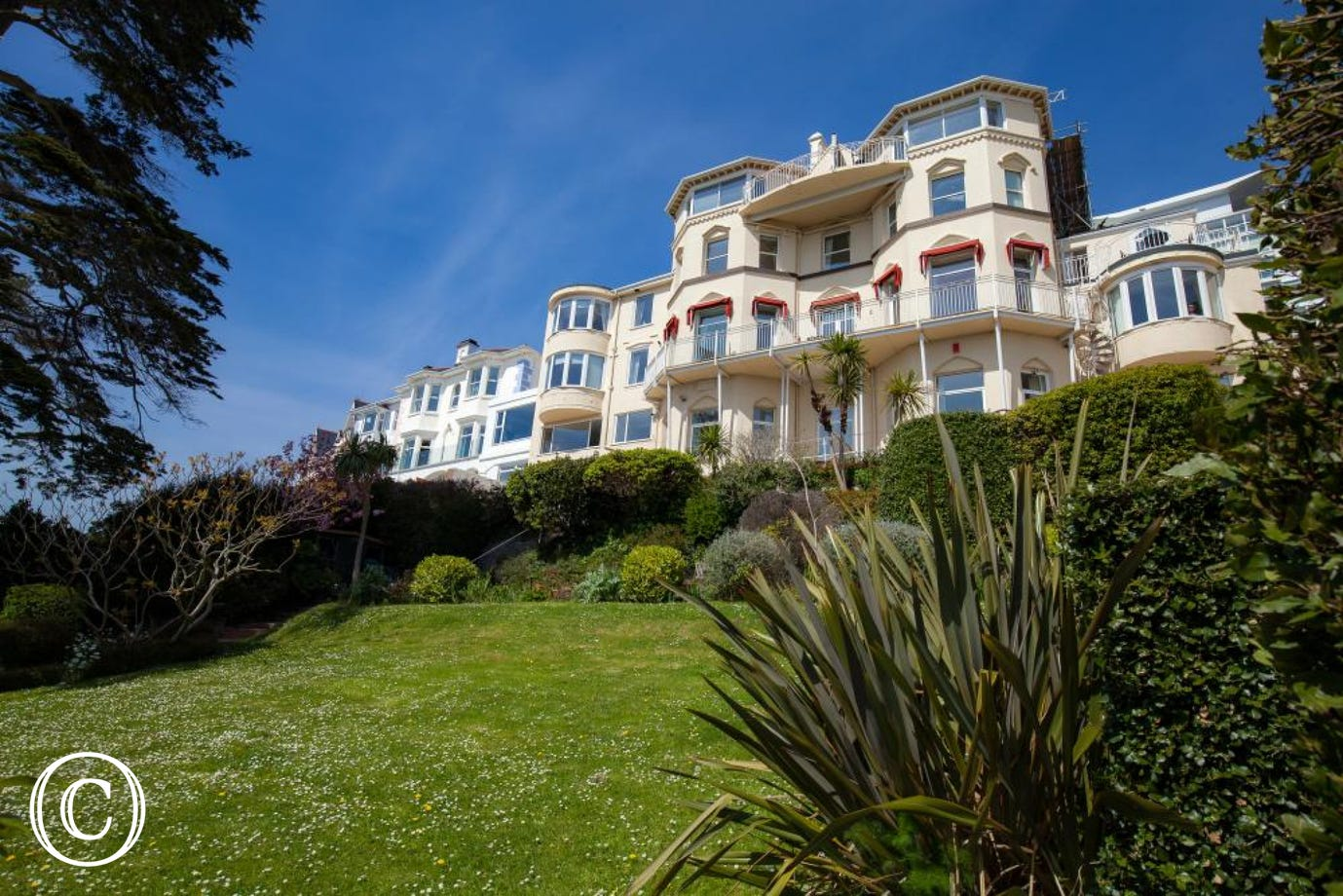 Bayfort Mansions in Torquay, South Devon, home to fabulous self-catering holiday apartments for couples and families alike