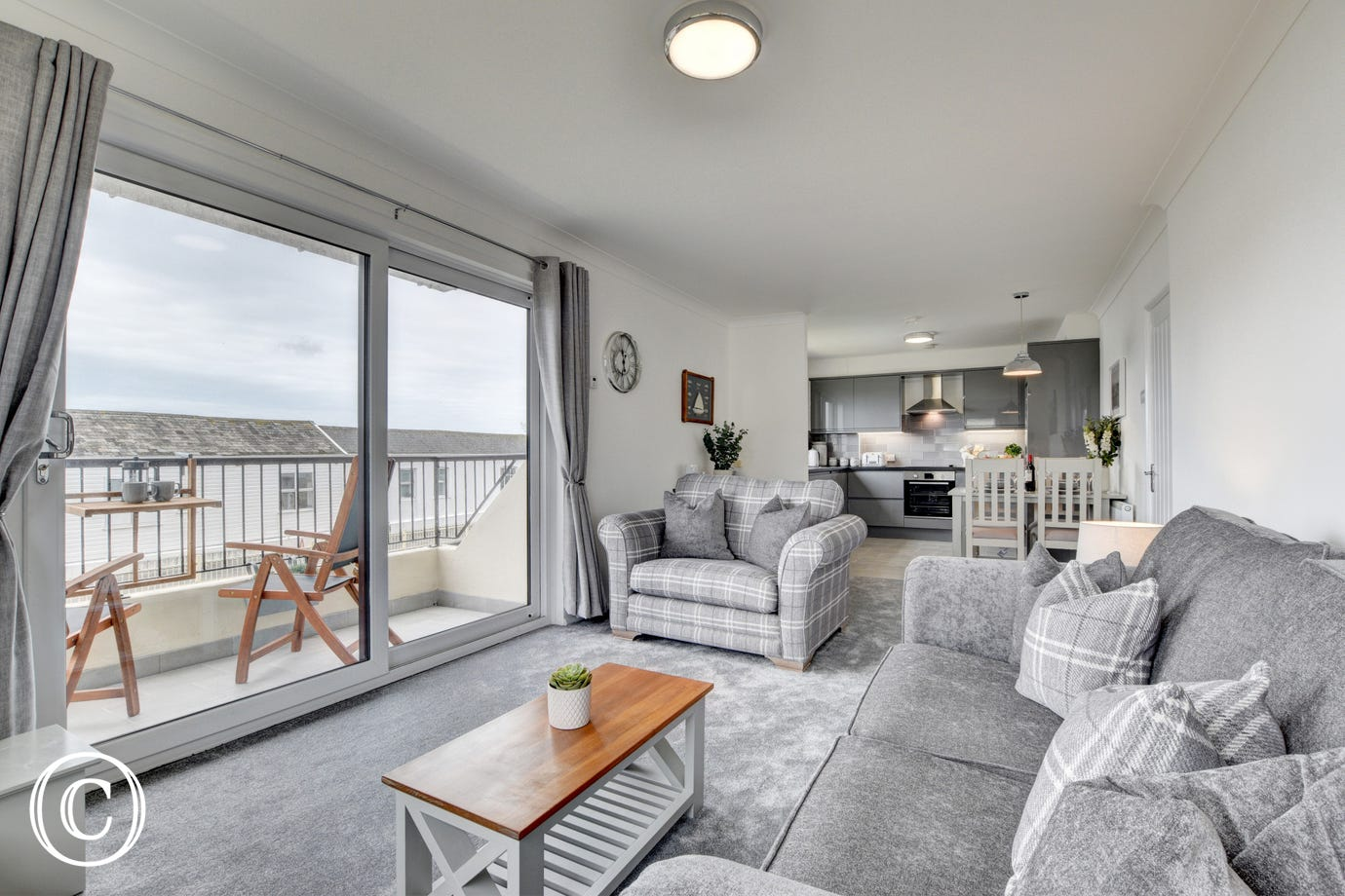 Spinnaker is located in the heart of the village of Instow
