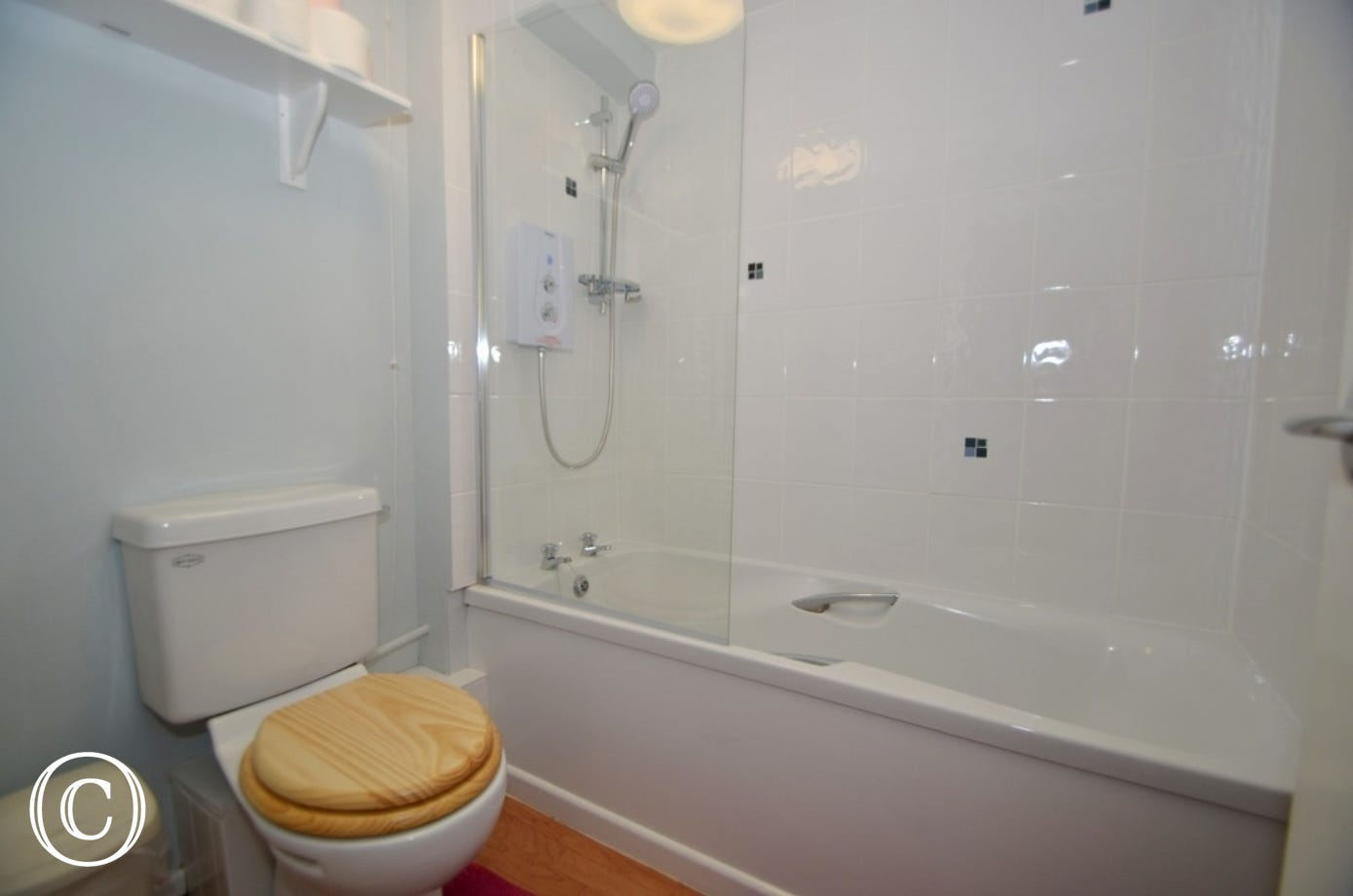 Bathroom with bath