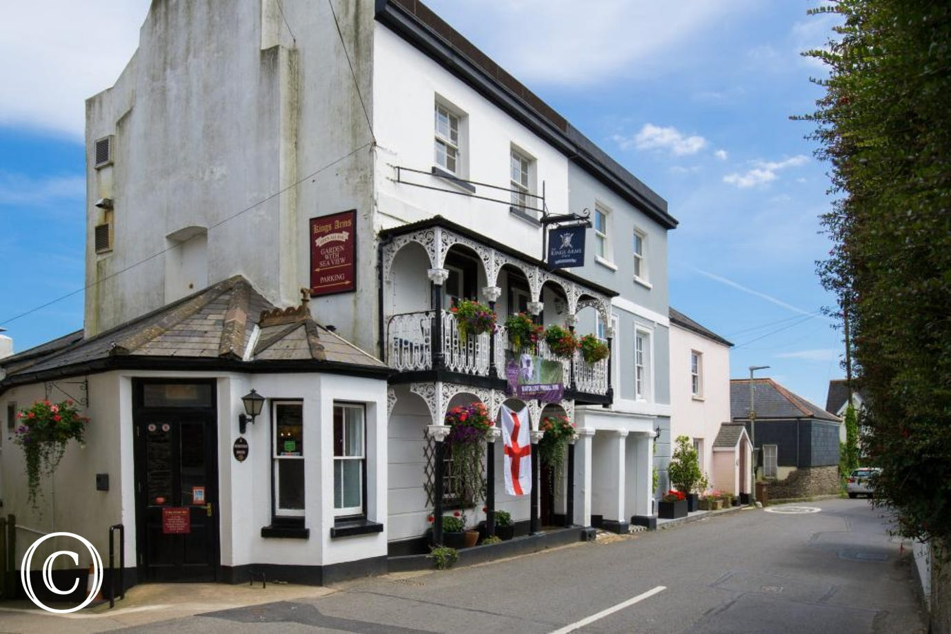 The Kings Arms in Strete