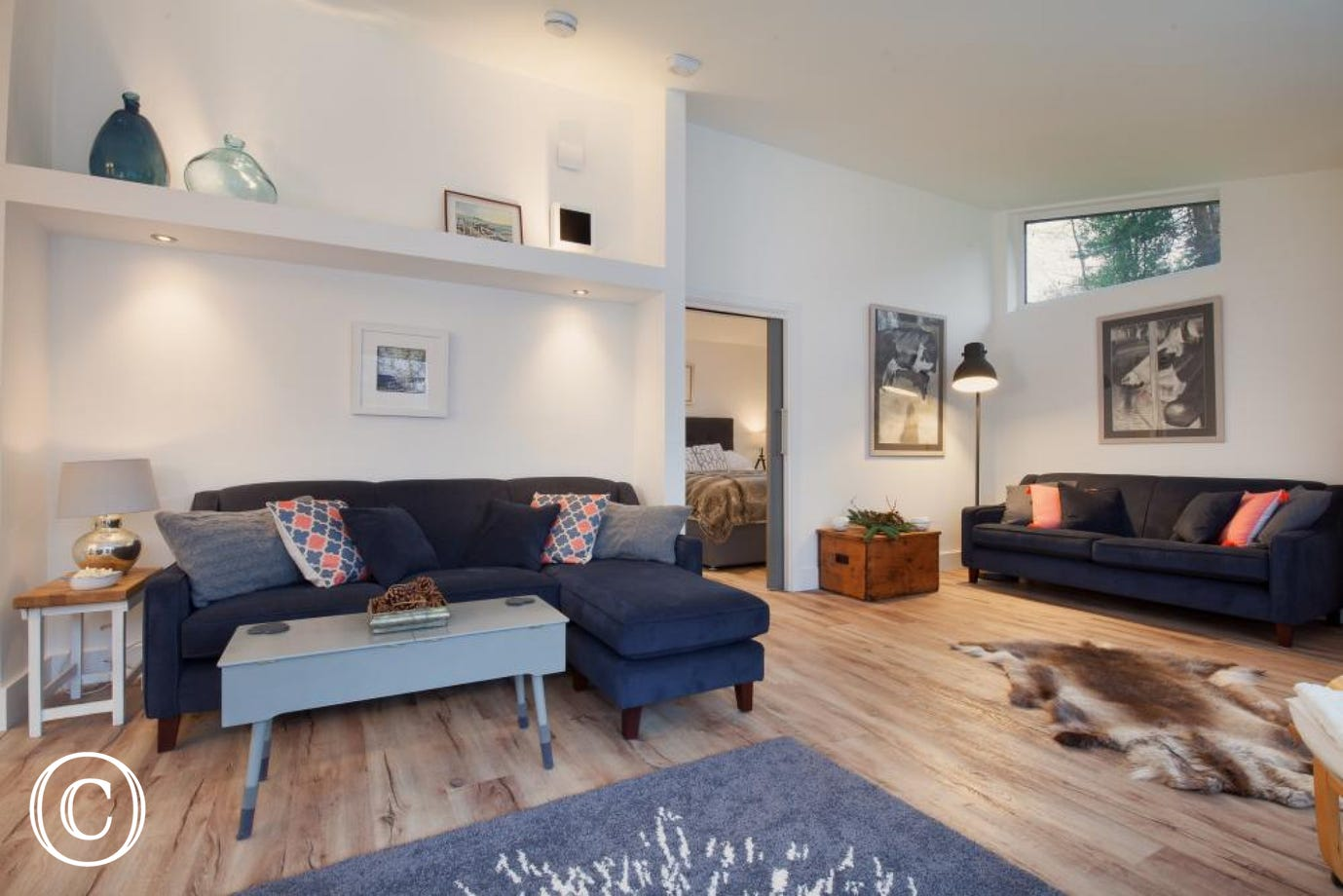 Hygge House, Shaldon - Living area (view 3)