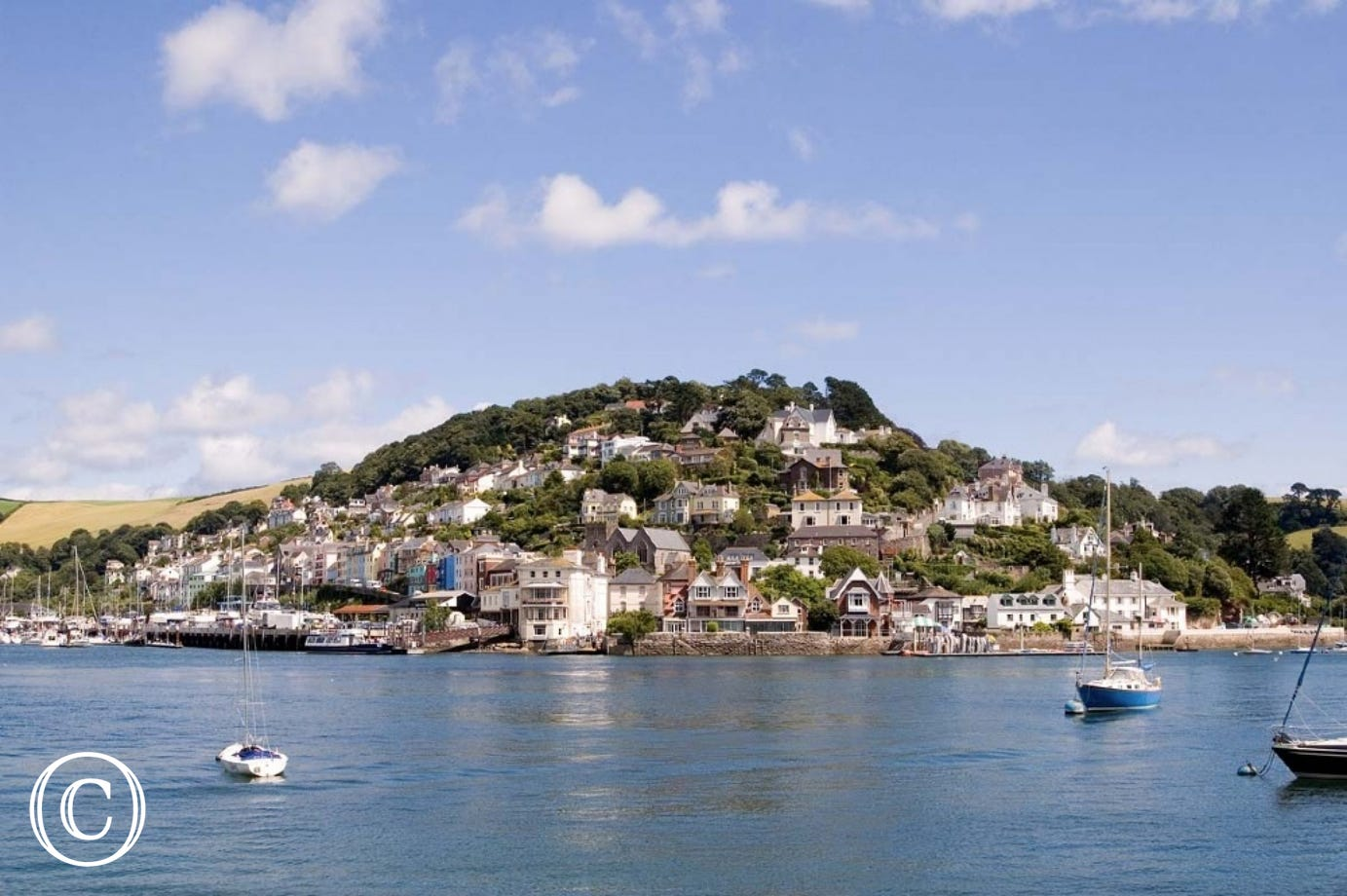 Kingswear from Dartmouth in South Devon