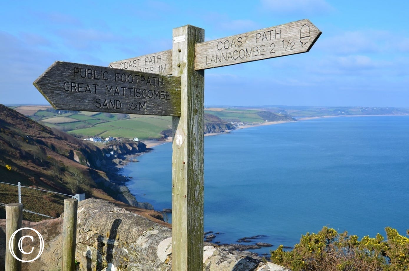 South West Coast Path from Start Point