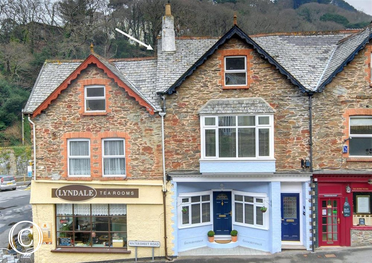 The Loft is in the heart of Lynmouth