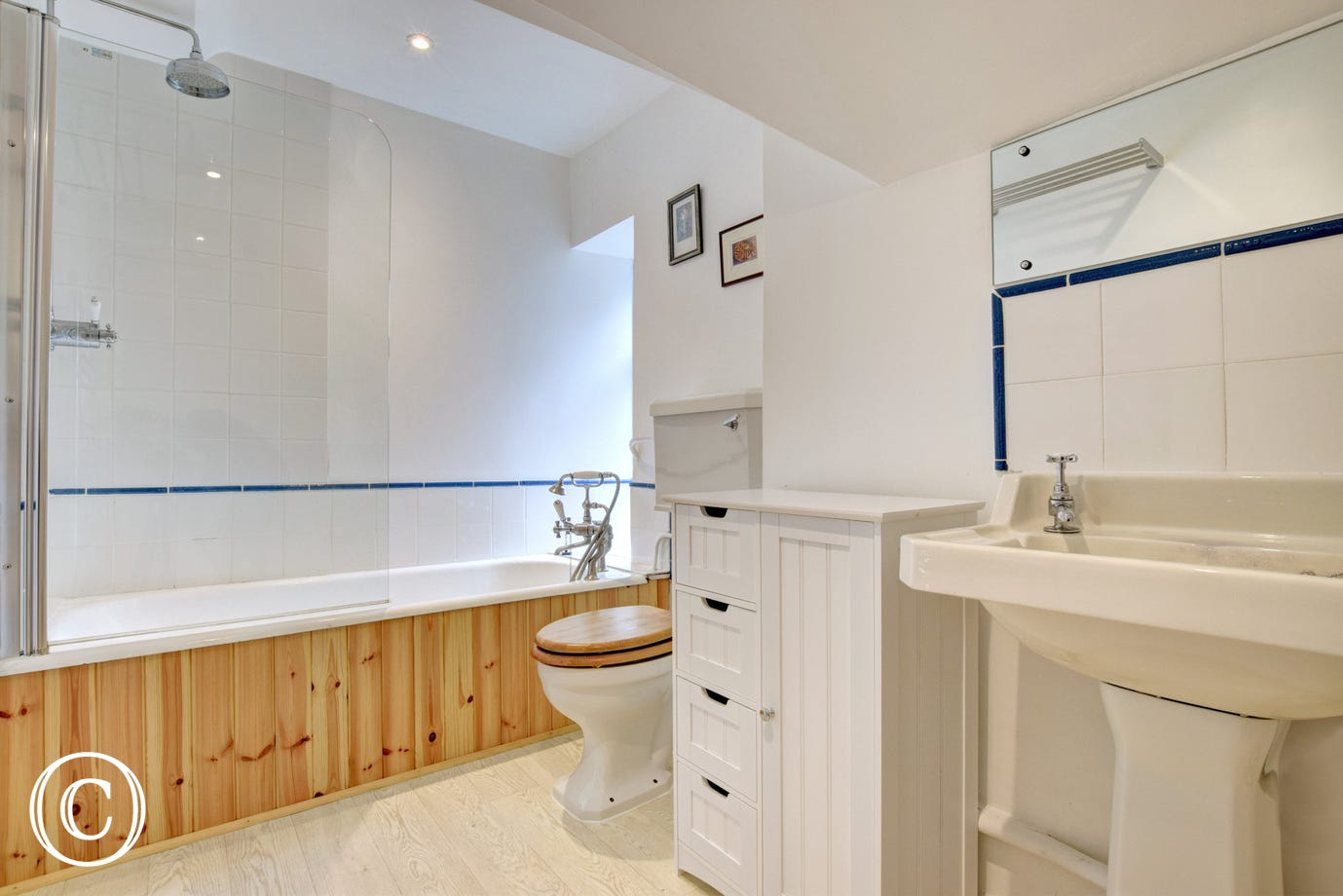Wild Rose Cottage, Asprington - Bathroom