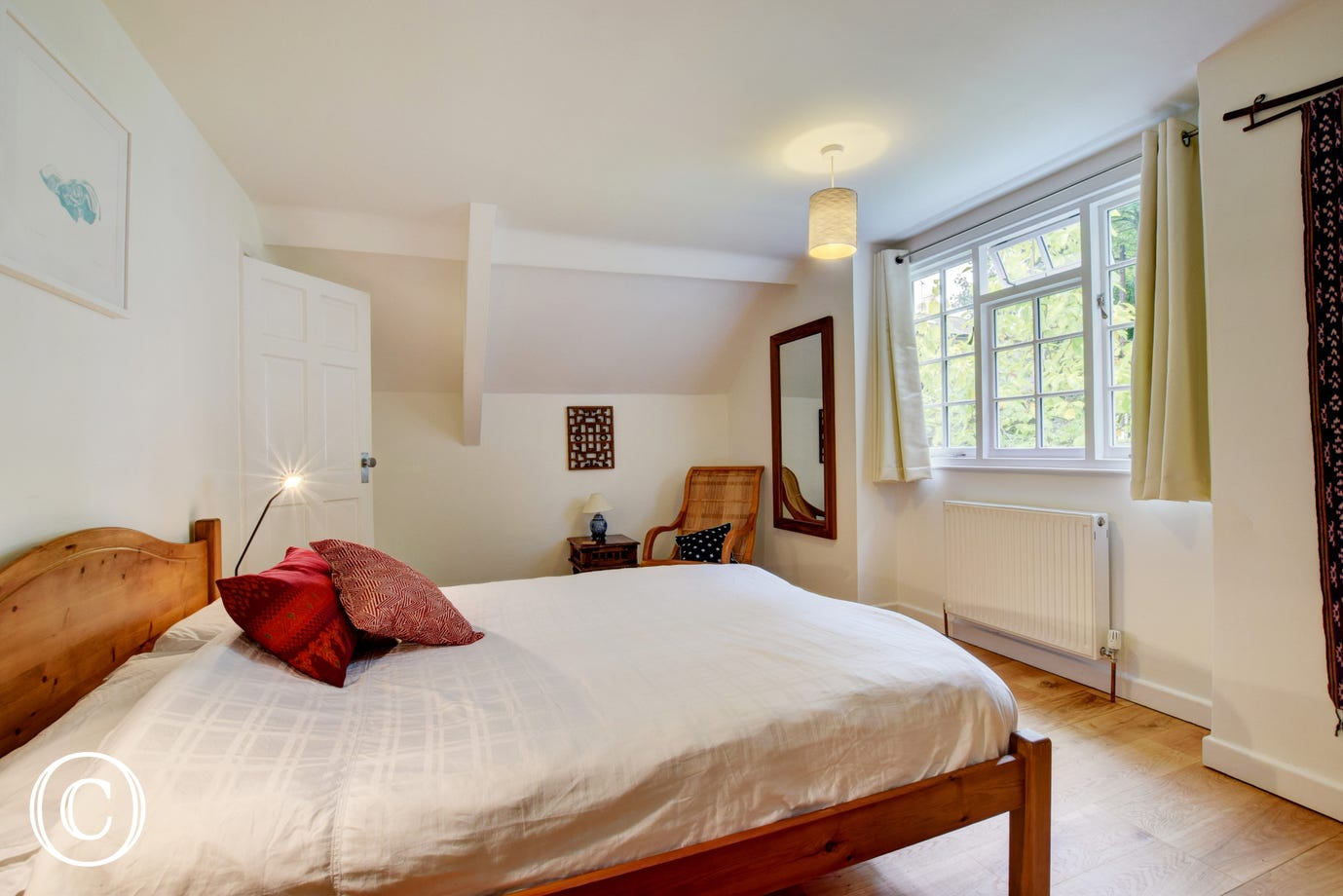 Wild Rose Cottage, Asprington - Bedroom 1 - View 2