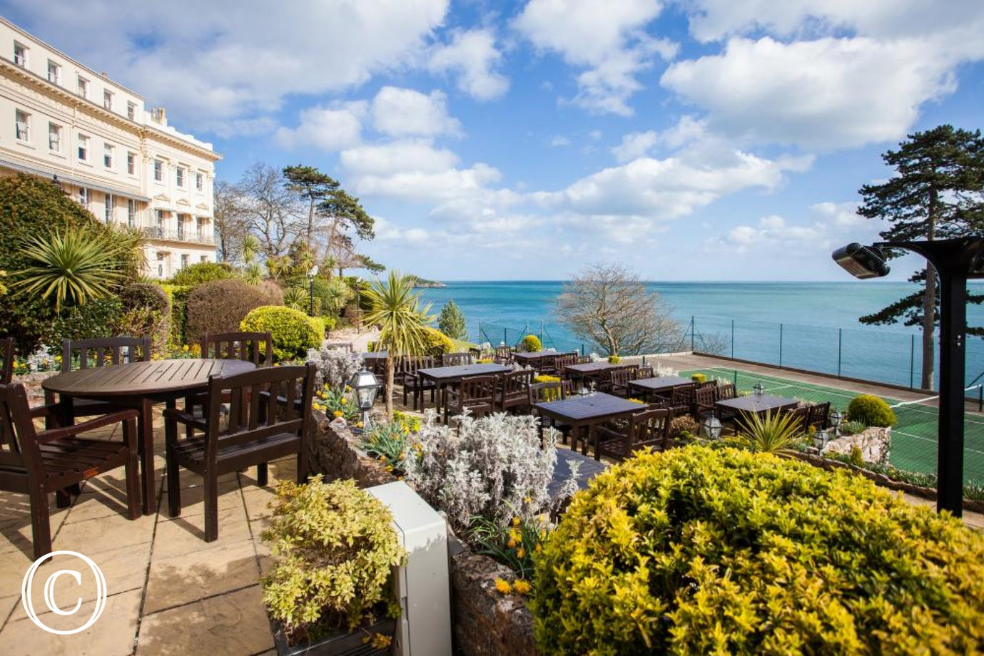 Meadfoot Beach Apartment, Torquay - Outside space