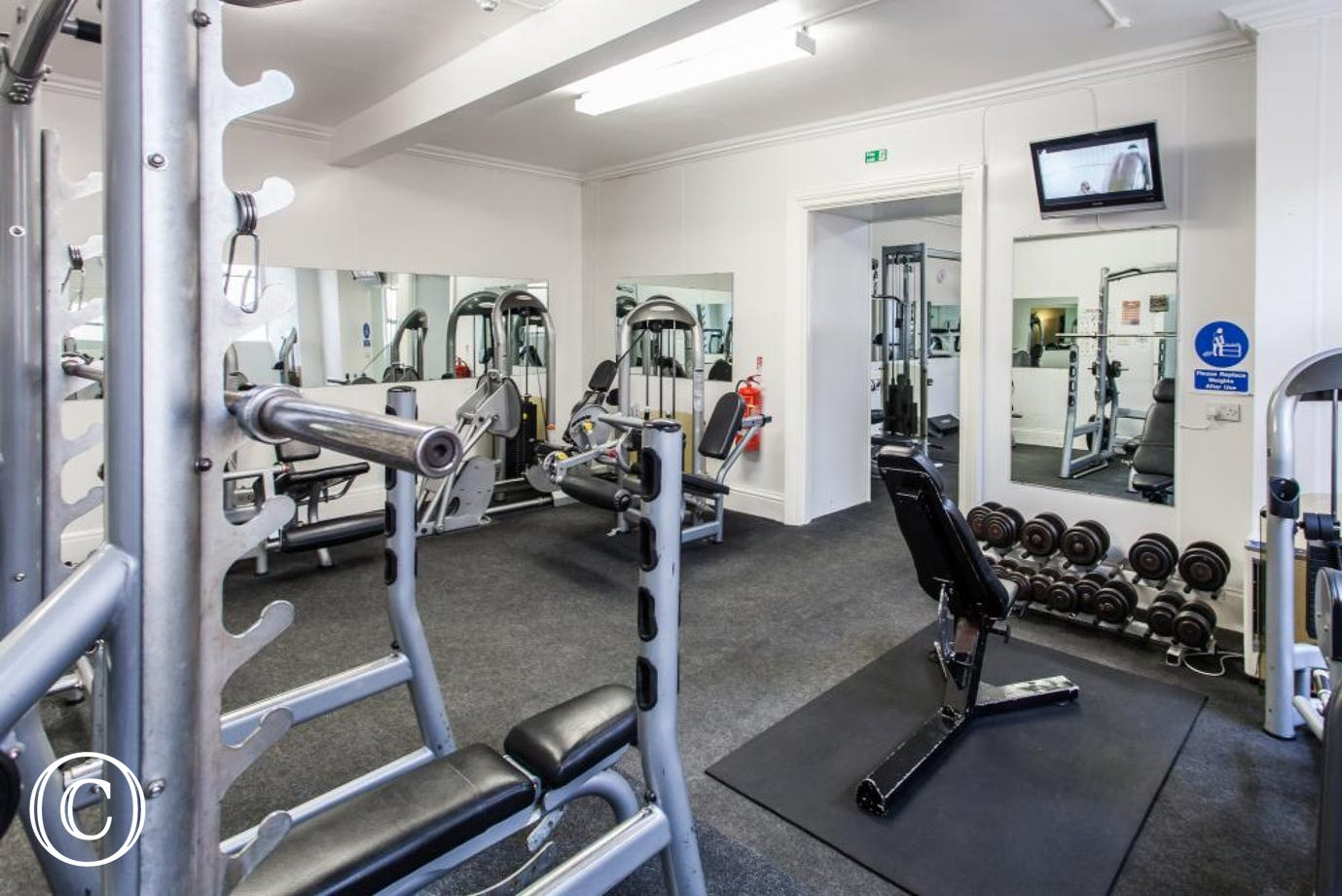 Meadfoot Beach Apartment, Torquay - Gym 2