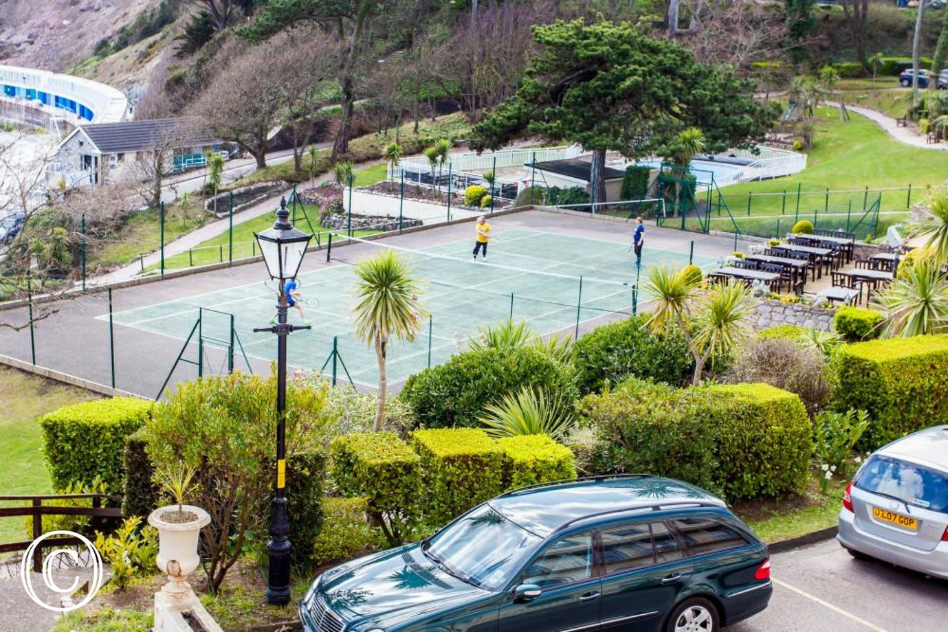 Meadfoot Beach Apartment, Torquay - Tennis courts