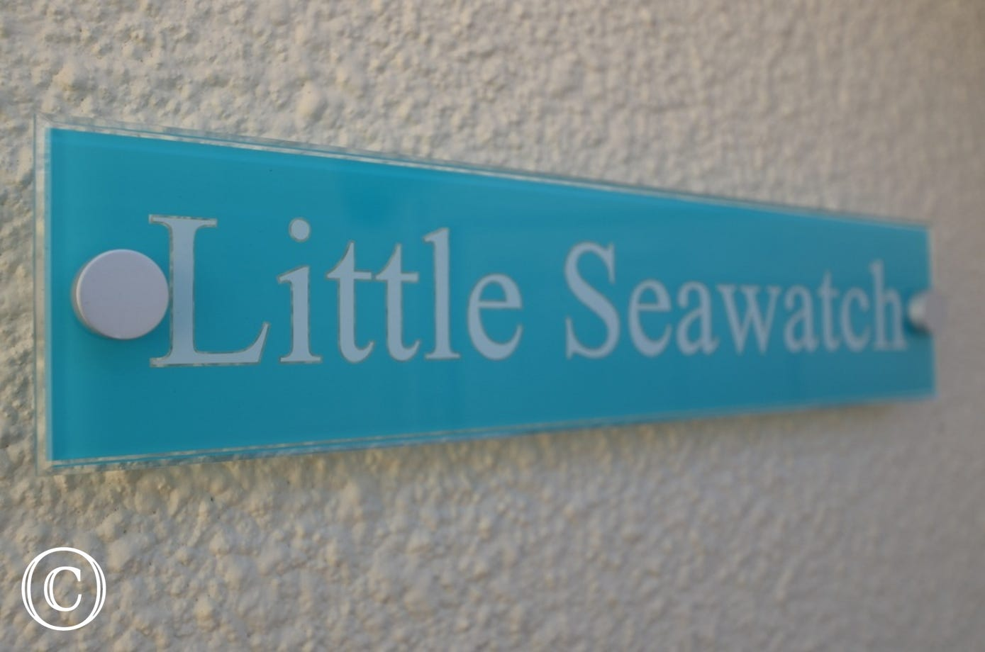 Little Seawatch property name sign