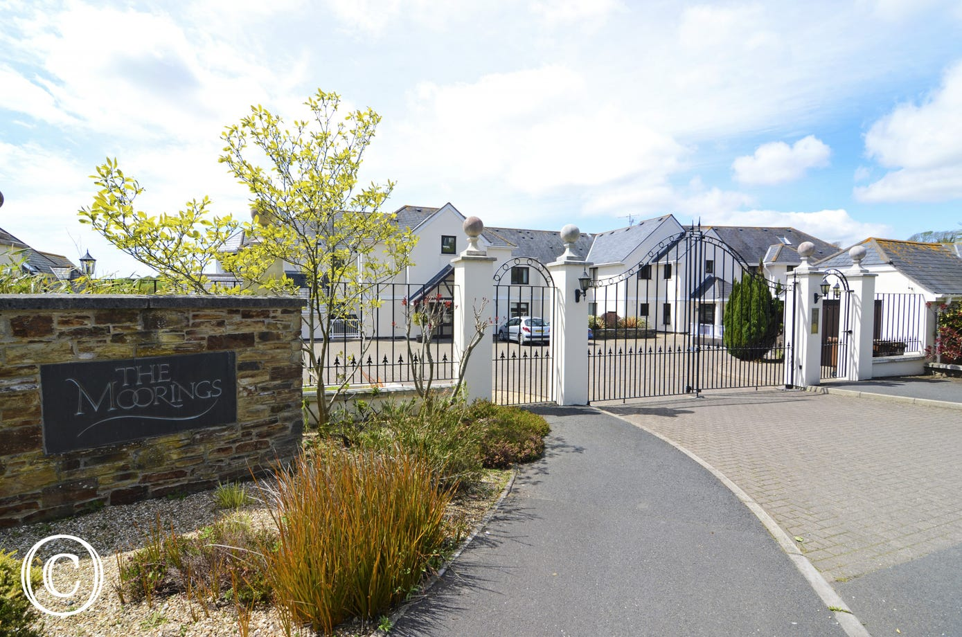 stylish luxury apartment complex in Kingsbridge