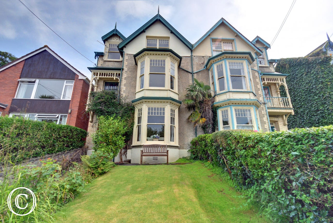 Craigmore is a spacious period property situated in an elevated position just a short walk from seaside village of Combe Martin